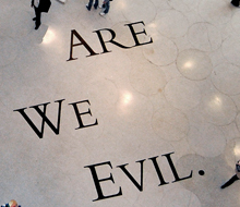 are we evil?